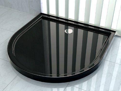 50 mm Duschtasse für U-Duschen 100 x 100 (schwarz)