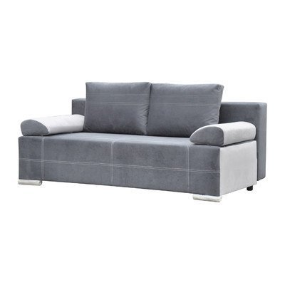 m bel24 3 sitzer schlafsofa acuna polsterfarbe grau und hellgrau 0. Black Bedroom Furniture Sets. Home Design Ideas