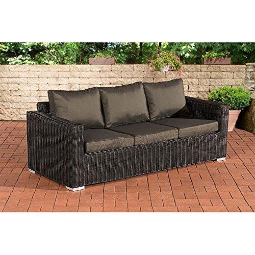 m bel24 m bel g nstig 3er sofa madeira anthrazit schwarz 0. Black Bedroom Furniture Sets. Home Design Ideas