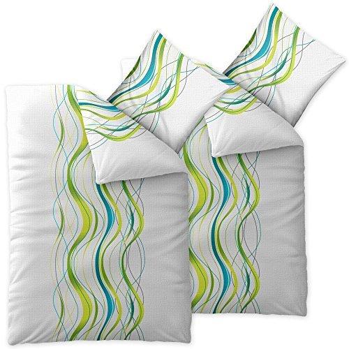 4-teilige-CelinaTex-Sommer-Bettwsche-100-Baumwolle-Seersucker-Marken-Qualitt-135-x-200-cm-Serie-Enjoy-4-tlg-Design-Anka-wei-grn-blau-0