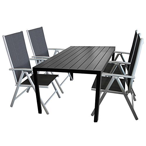 m bel24 m bel g nstig 5tlg terrassenmbel set sitzgruppe. Black Bedroom Furniture Sets. Home Design Ideas