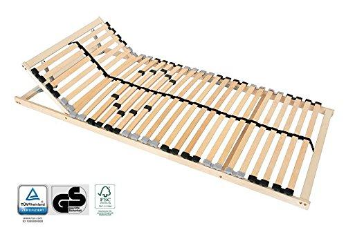 7 zonen lattenrost 100x200 kopfteil h rtegrad verstellbar. Black Bedroom Furniture Sets. Home Design Ideas