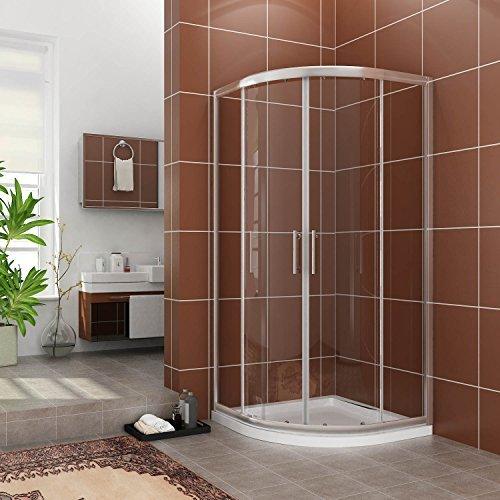 viertelkreis duschkabine 90x90 duschabtrennung mit rahmen runddusche schiebet r dusche duschwand. Black Bedroom Furniture Sets. Home Design Ideas