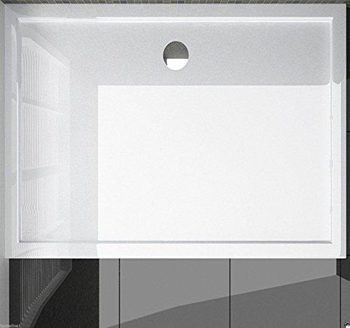 80x90 Duschtasse Duschwanne Superflach 4 cm