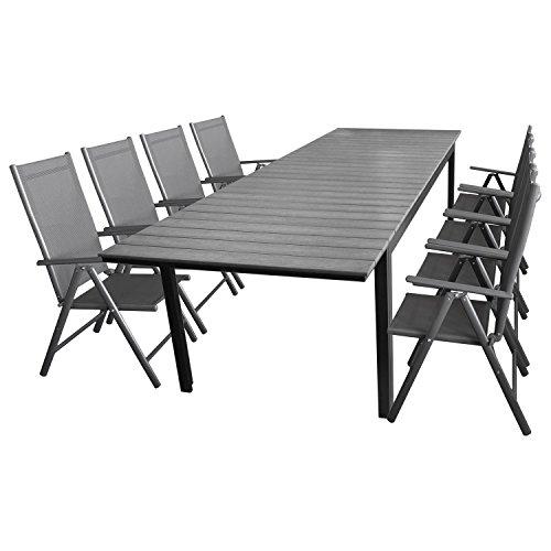 9tlg sitzgarnitur sitzgruppe gartengarnitur. Black Bedroom Furniture Sets. Home Design Ideas