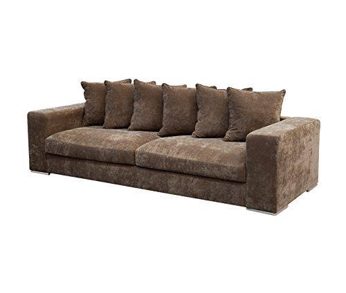 amaris elements so004 2 sofa 4 sitzer 265 x 106 x 65 45 cm braun m bel24 m bel g nstig. Black Bedroom Furniture Sets. Home Design Ideas