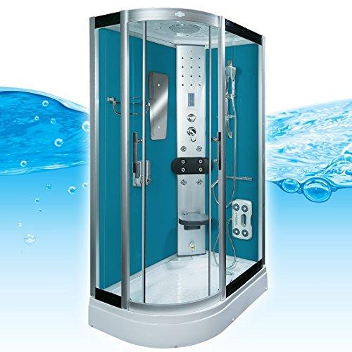 acquavapore dtp8060 7101l dusche duschtempel komplett. Black Bedroom Furniture Sets. Home Design Ideas