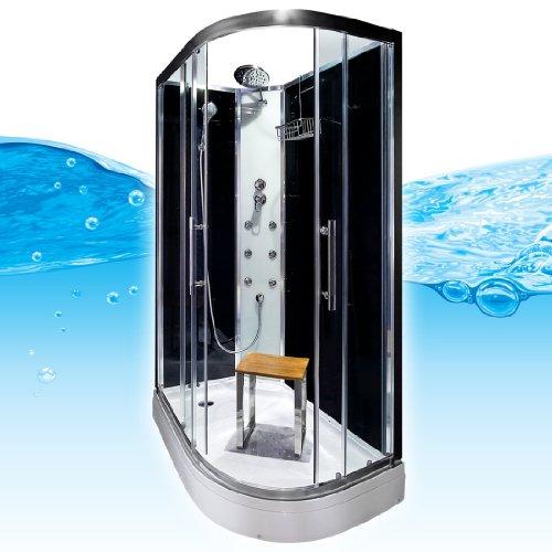 acquavapore quick16 7300r dusche duschtempel komplette duschkabine 80x120 m bel24. Black Bedroom Furniture Sets. Home Design Ideas