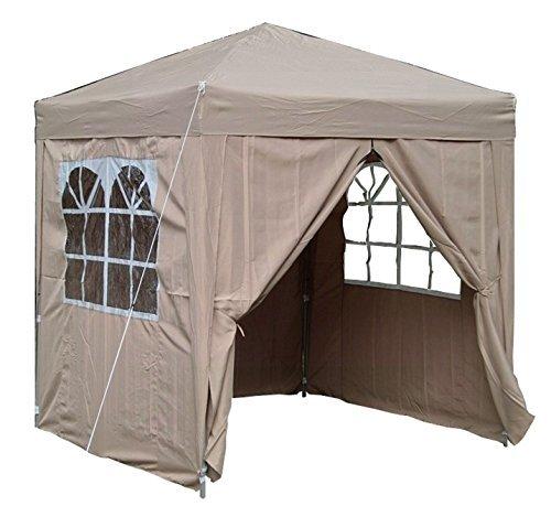 airwave pop up pavillon 2 x 2 m beige m bel24. Black Bedroom Furniture Sets. Home Design Ideas