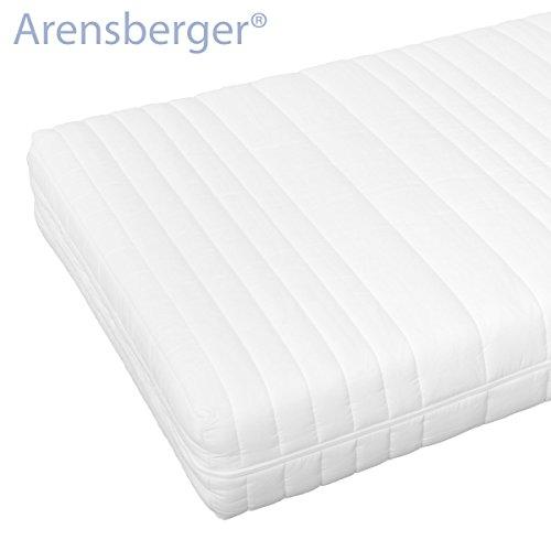 Arensberger ® 2572 11-Zonen Traumpur-20 Matratze RG30 mit Nanocell Kern, 90 x 190 x 20 cm, 110 kg