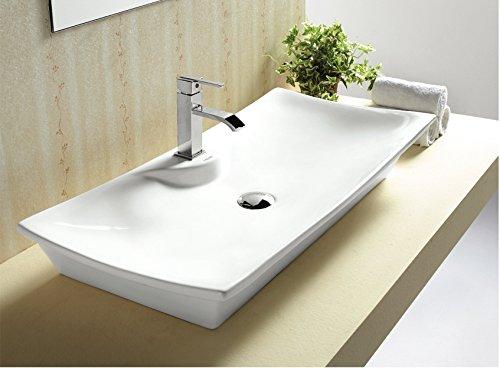 art of baan design waschbecken klein hochglanz aufsatz und wandmontage m glich wei 450. Black Bedroom Furniture Sets. Home Design Ideas