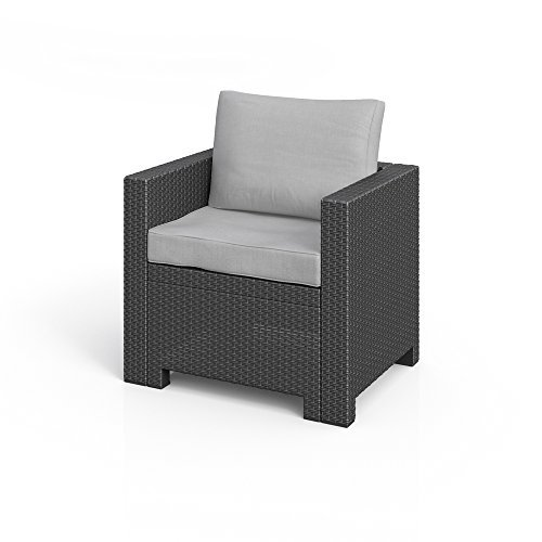 bica colorado lounge sessel poly rattan gartenm bel rattanoptik inkl sitzkissen anthrazit m bel24. Black Bedroom Furniture Sets. Home Design Ideas