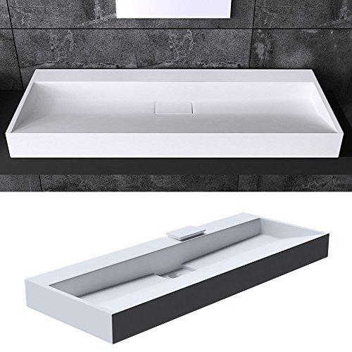 bth 70x46x11 cm design waschbecken colossum19 ohne. Black Bedroom Furniture Sets. Home Design Ideas