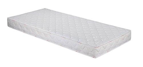 Badenia 3887860143 Bettcomfort Roll-Komfortmatratze, Trendline BT 100 H2, 140x200 cm, weiß