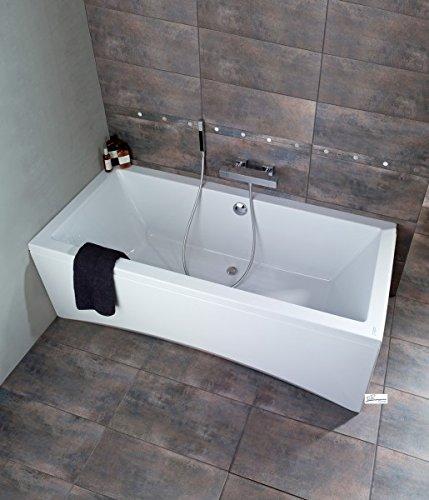 Badewanne Intro 170 x 75 + Füße