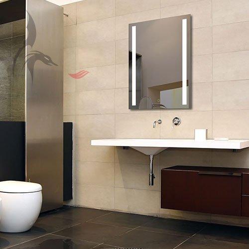 badezimmerspiegel mit led lindau 50x70cm led bad spiegel energieklasse a m bel24. Black Bedroom Furniture Sets. Home Design Ideas