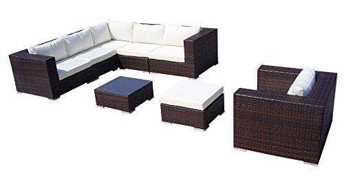baidani gartenm belset designer lounge liege gardendream ecksofa 1 sessel 1. Black Bedroom Furniture Sets. Home Design Ideas