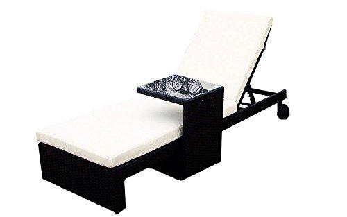 baidani gartenm bel sets designer lounge liege holiday liege beistelltisch. Black Bedroom Furniture Sets. Home Design Ideas
