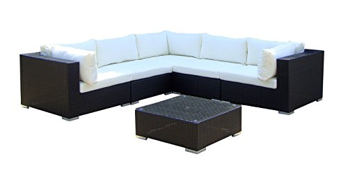 baidani gartenm bel sets designer lounge xxl sofa sunshine sofa beistelltisch. Black Bedroom Furniture Sets. Home Design Ideas