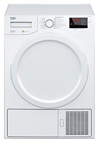 Beko DPS 7405 W3 Wärmepumpentrockner / A++ / 7kg / Multifunktionsdisplay / weiß / Aquawave-Schontrommel / Express-Programm / FlexySense Sensortechnologie / Automatischer Knitterschutz