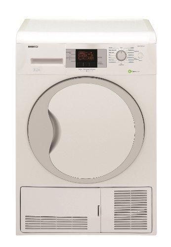Beko DPU 7306 XE Wärmepumpentrockner/A+++/7kg/Weiß/FlexySense Feuchtigkeitssensor/Trommelbeleuchtung/Automatischer Knitterschutz/Reversierende Trommelbewegungen
