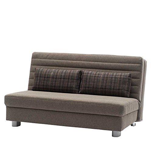 m bel24 m bel g nstig bettcouch schlafsofa braun bastian breite 160 cm sitzpltze 3 sitzpltze. Black Bedroom Furniture Sets. Home Design Ideas
