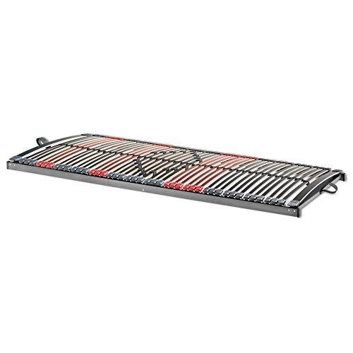 Betten-ABC 7-Zonen Lattenrost Max Premium NV/Lattenrahmen in 80 x 200 cm mit 44 Leisten und Mittelzonenverstellung - geeignet für alle Matratzen