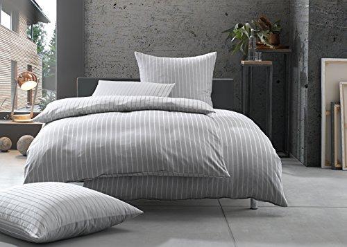 bettwaesche mit stil mako satin damast streifen. Black Bedroom Furniture Sets. Home Design Ideas