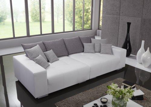 m bel24 big leder sofa made in germany italienisches leder freie farbwahl ohne aufpreis aus 26. Black Bedroom Furniture Sets. Home Design Ideas