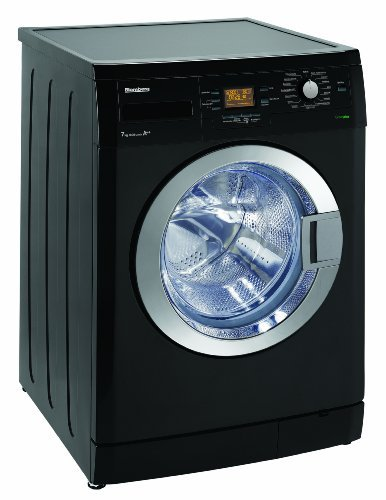 Blomberg WNF 74461 ZCE20 Waschmaschine Frontlader / A++B / 194 kWh/Jahr / 1400 UpM / 7 kg / Großes Display / AquAvoid(TM) plus / piano black