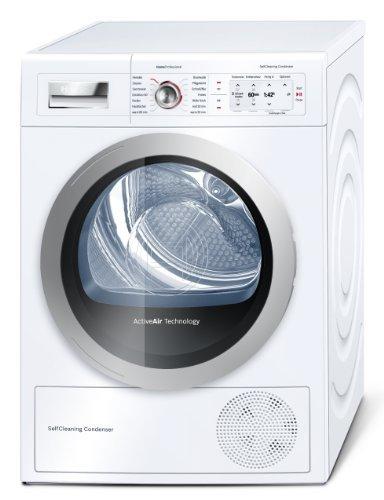 Bosch WTY87701 Home Professional Wärmepumpentrockner/A++/8 kg/Weiß/Selbstreinigender Kondensator/Anti Vibration