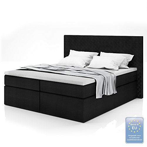 xxxl boxspringbett designer boxspring bett led. Black Bedroom Furniture Sets. Home Design Ideas
