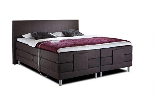 belvandeo i luxus boxspringbett vital flexion elektrisch verstellbar i 140x200 cm i h2 h3 i. Black Bedroom Furniture Sets. Home Design Ideas