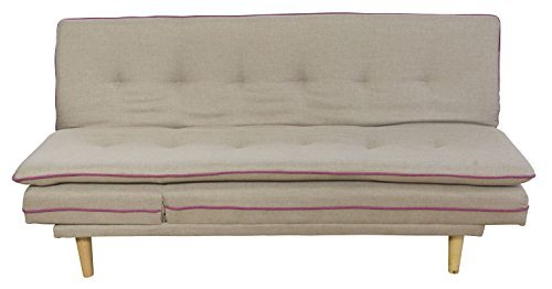 cagusto schlafsofa borris beige bettsofa 2 sitzer. Black Bedroom Furniture Sets. Home Design Ideas