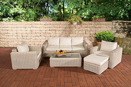 clp polyrattan lounge madeira inklusive polsterauflagen. Black Bedroom Furniture Sets. Home Design Ideas