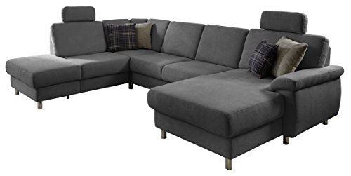 cavadore couch winstono ecksofa mit relaxfunktion wohnlandschaft federkern longchair rechts. Black Bedroom Furniture Sets. Home Design Ideas