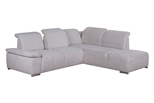 cavadore polsterecke tabagos ecksofa mit ottomane rechts modernes sofa mit sitztiefenverstellung. Black Bedroom Furniture Sets. Home Design Ideas
