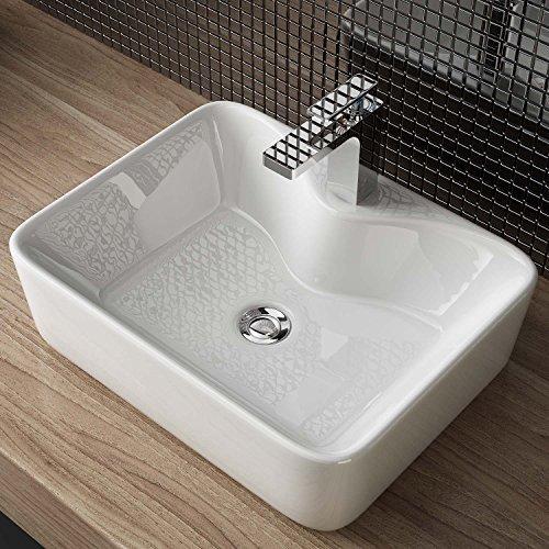 Design keramik aufsatz waschbecken waschtisch for Best moebel24