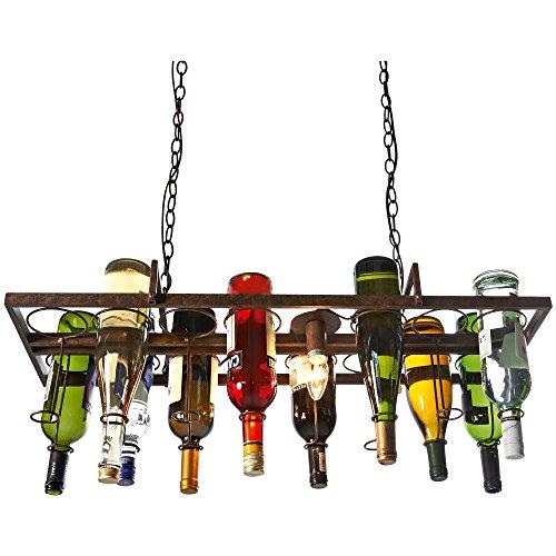 """Deckenleuchte """"Bottle"""" - dekorierbar mit bis zu 14 leeren Flaschen - 2 x E14/max. 40W (nicht inkl.)"""
