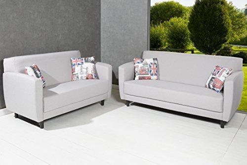 designer polster sofaset aus 3er u 2er sofa couch. Black Bedroom Furniture Sets. Home Design Ideas