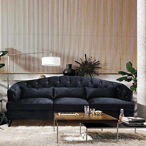 designer sofa im retro design anthrazit pharao24 m bel24. Black Bedroom Furniture Sets. Home Design Ideas