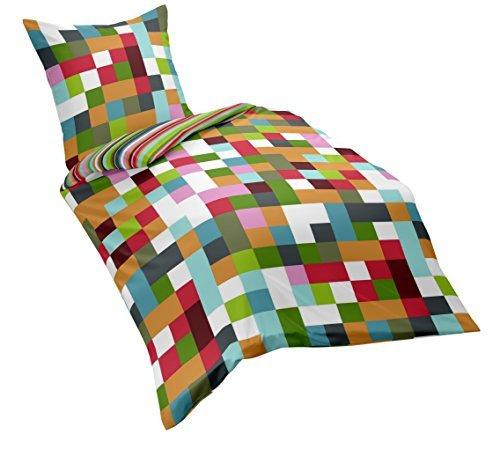 Dream Art Renforce-Wende-Bettwäsche, mehrfarbig, 135 cm x 200 cm