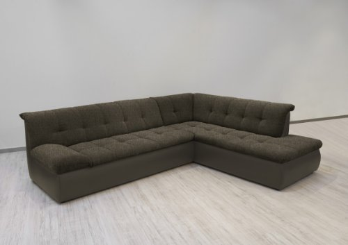 dreams4home polsterecke aulis i sofa ecksofa couch wahlweise mit schlaffunktion cappuciono. Black Bedroom Furniture Sets. Home Design Ideas
