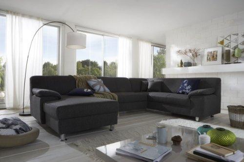 dreams4home polsterecke laguna sofa wohnlandschaft couch u. Black Bedroom Furniture Sets. Home Design Ideas