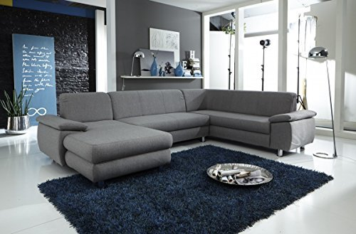 dreams4home polstersofa 39 spike 39 sofa wohnzimmer braun. Black Bedroom Furniture Sets. Home Design Ideas