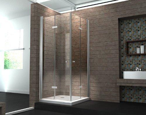 duschkabine clap 100 x 100 x 195 cm ohne duschtasse m bel24. Black Bedroom Furniture Sets. Home Design Ideas