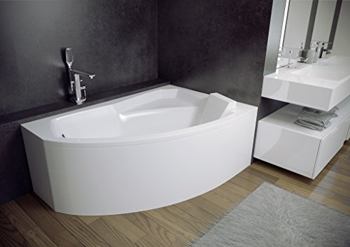 exclusive line eckbadewanne eckwanne rima 150x95 cm. Black Bedroom Furniture Sets. Home Design Ideas