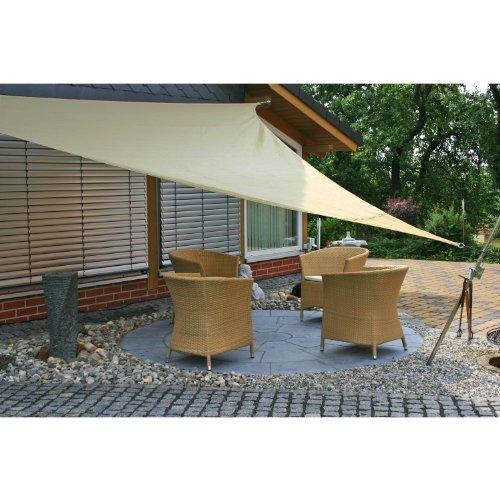 m bel24 m bel g nstig eduplay sonnensegel 3 6x3 6x3 6m. Black Bedroom Furniture Sets. Home Design Ideas