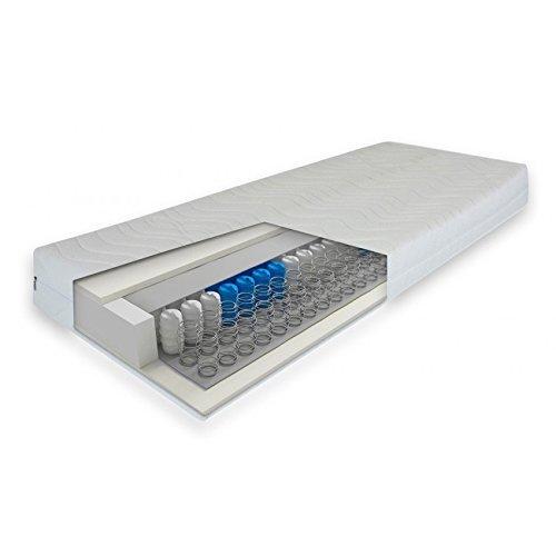 Verapur classik tfk hochwertige taschenfederkernmatratze for Schlafsofa 90 x 190