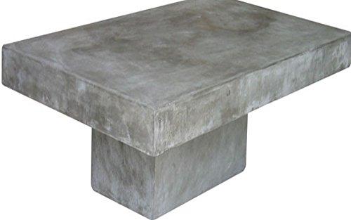 Excl baidani designer couchtisch cube 130 x 80 cm stone for Couchtisch cube
